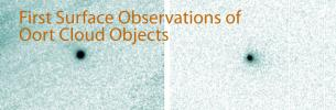 First Surface Observations of Oort Cloud Objects