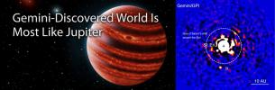 GEMINI-DISCOVERED WORLD IS MOST LIKE JUPITER