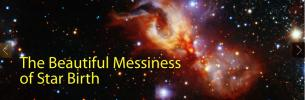 The Beautiful Messiness of Star Birth