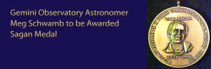 Gemini Observatory Astronomer Meg Schwamb to be Awarded Sagan Medal