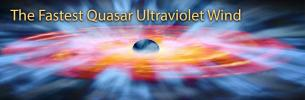The Fastest Quasar Ultraviolet Wind