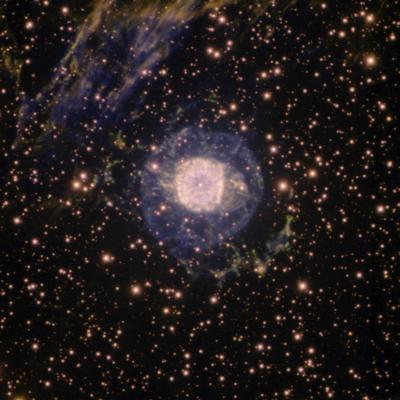 NGC 6751 Glowing Eye Nebula