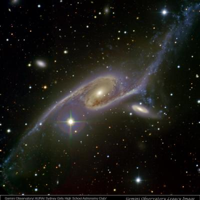 Dancing Galaxies NGC 6872 & IC 4970