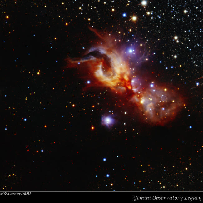 Reflection Nebula GGD 27
