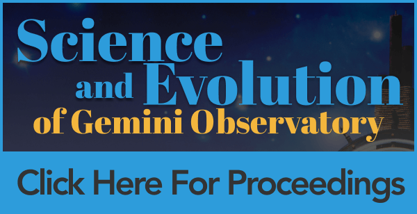Gemini Science Meeting Open For Registration