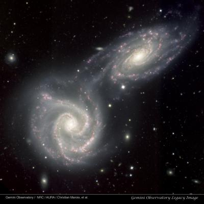 Twin Galaxies NGC 5426-27