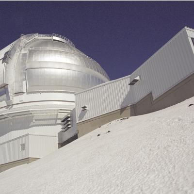 Gemini North After Snow in 1999